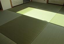 和紙素材のヘリなし琉球畳