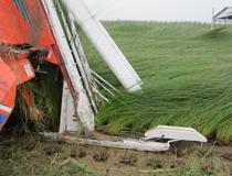ハーベスタと言う稲刈り機。