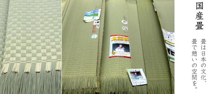 国産畳のご紹介です